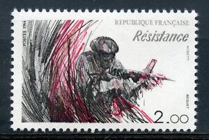 STAMP-TIMBRE-FRANCE-NEUF-N-2312-RESISTANCE-ET-DEBARQUEMENT