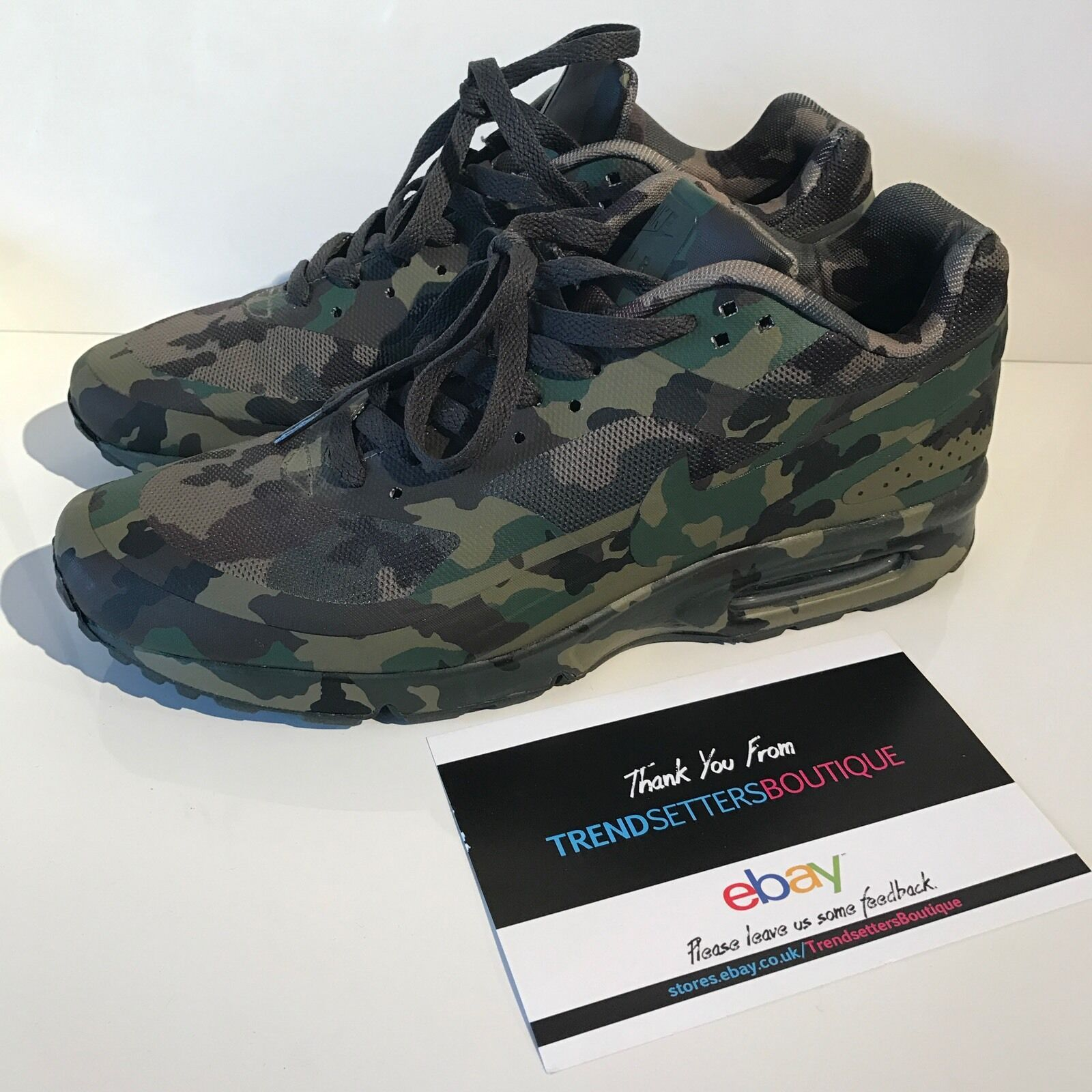 NIKE AIR MAX CLASSIC BW CAMO FRANCE SP QS 607474-220 CAMOUFLAGE