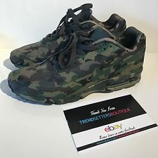 NIKE AIR MAX CLASSIC BW UK 9 9.5 10 10.5 CAMO FRANCE SP QS 607474-220 CAMOUFLAGE