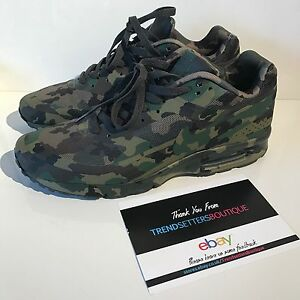grand choix de d4fa9 b8c5f Details about NIKE AIR MAX CLASSIC BW UK 9 9.5 10 10.5 CAMO FRANCE SP QS  607474-220 CAMOUFLAGE