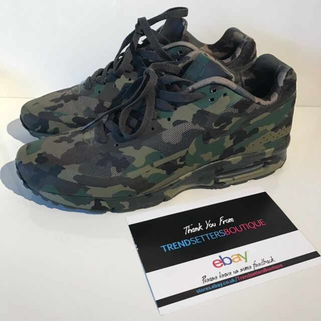 rencontrer 16e8f e55b6 Nike Air Max Classic BW UK 10 10.5 11 Camo France SP QS 607474-220  Camouflage