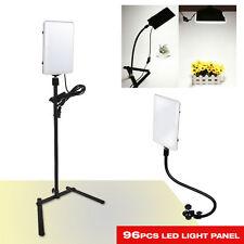 96 LED Gooseneck Photography Studio Video Light Panel Camera Photo Lighting