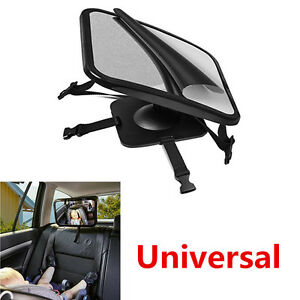 Baby Back Car Seat Mirror Cover for Infant Rearward Adjustable Car Safety View
