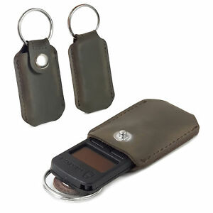 TUFF LUV Western Leather Case Keychain Pocket Clip for Trezor Crypto - Brown 5055261848507