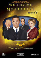 Murdoch Mysteries: Season 9 (DVD, 2016, 5-Disc Set)