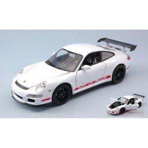 WELLY-WE22495W-PORSCHE-911-997-GT3-RS-WHITE-1-24-MODELLINO-DIE-CAST-MODEL