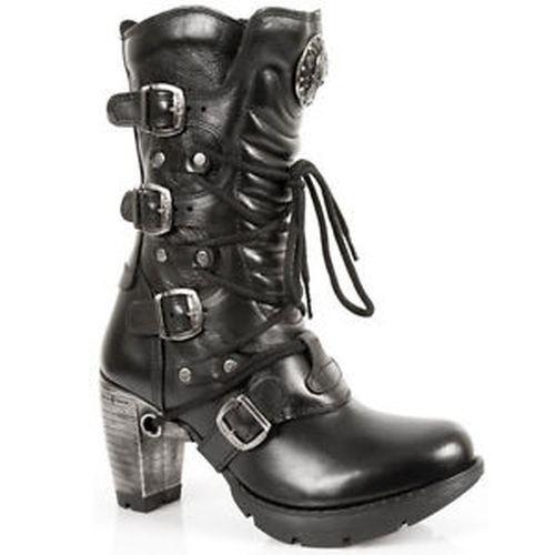New Rock señora botas zapatos Gothic