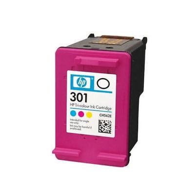 HP 301 / 301XL Black & Colour Ink Cartridge For DeskJet 1010 Printer - No box