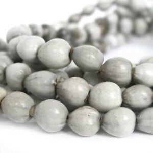Jobs-Tears-Natural-Organic-Seed-Beads-Drops-9-10mm-Double-Length-36-034-Strand