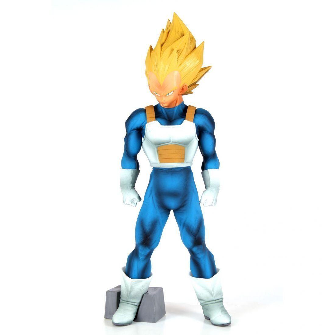 BANPRESTO Dragon Ball Z Super Master Stars Piece Vegeta ORIGINALE