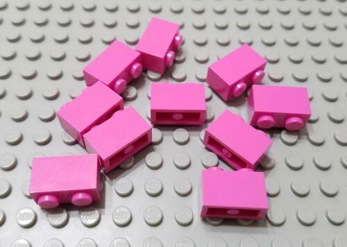 New LEGO Lot of 10 Dark Pink 1x2 Girls Friends Building Brick Pieces