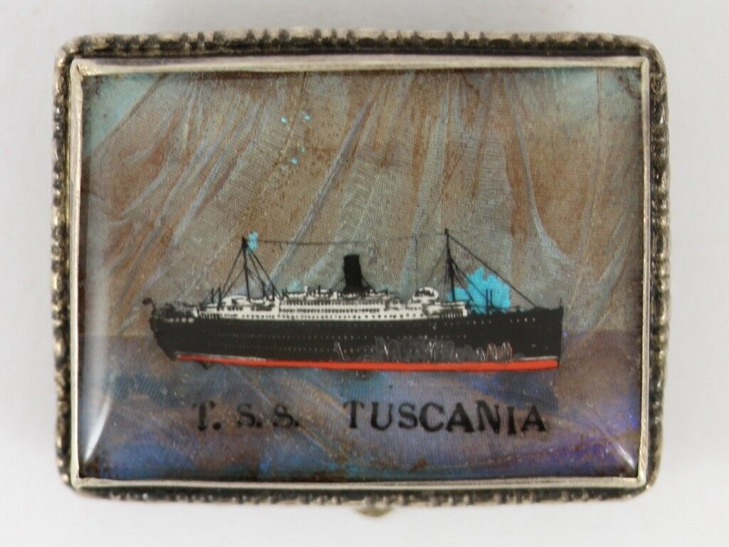T.s.s TUSCANIA con Ali di Farfalla Spilla argentoo argentoo argentoo Sterling VINTAGE 925 6.7g Cw44 fc0f68