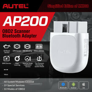 Details about OBD2 Bluetooth WiFi IOS Android Code Reader ABS SRS Reset  Diagnostic Scan Tool