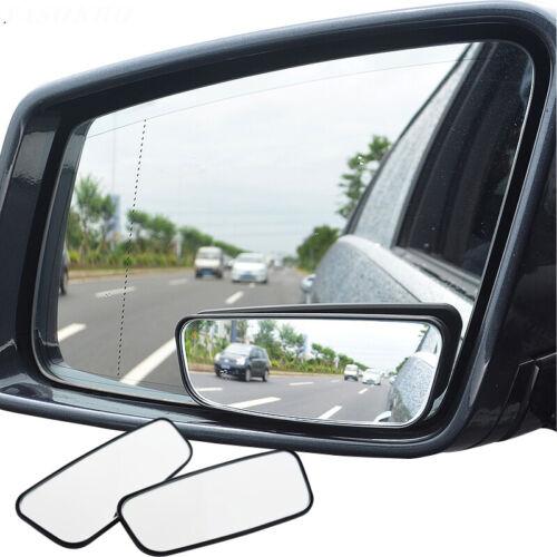 2X Adjustable Car Van Blind Spot Blindspot Towing Reversing Driving Mirror 360°