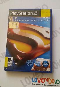SEPERMAN-RETURNS-PS2-PLAYSTATION-2-PAL-gioco-in-italiano