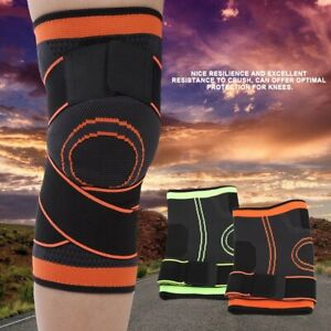 22f2d18dc5 Image is loading 3D-Weaving-Knee-Brace-Pad-Support-Protects-Compression-