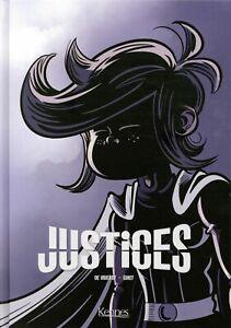 BD - JUSTICES, L'INTEGRALE > TOMES 1 à 3 / GIHEF, DAVIET, DE VRIENDT, EO KENNES