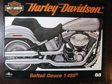 FASCICULE 88 HARLEY DAVIDSON  SOFTAIL DEUCE 1450/ LA RAPIDE / PROTO OHC 1100