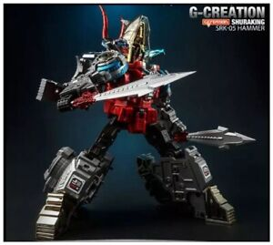 Transformer G-creation SRK-05 SRK05 Hammer Red Slag Action Figure