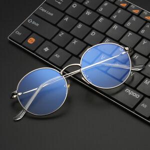 en cadre bleu Vcka Light Blue cadre Lunettes rétro Fashion Lunettes ordinateur métal wqg7UTxqv