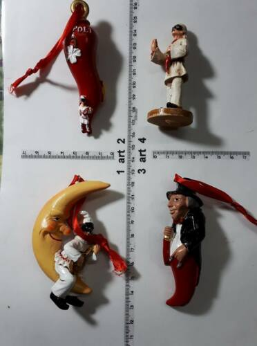 1 horn HORNS SCIO/' resin good luck keyring horn charms pulcinella