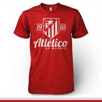 Atletico De Madrid Shirt España Spain Soccer Futbol T Shirt Camiseta La Liga