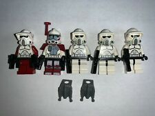 OLD Grey Hair Lego Star Wars Minifigure Obi-wan Kenobi 7110 AUTHENTIC