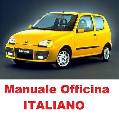 Schema Elettrico Fiat Seicento : Fiat seicento 600 prima 1 e seconda 2 serie 1998 2005 manuale