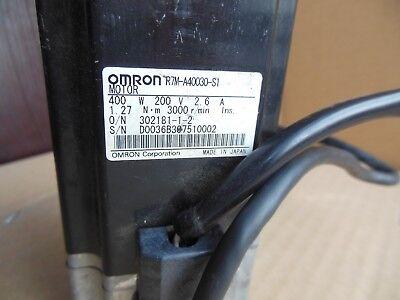 OMRON SERVO MOTOR R7M-A20030 USED FREE EXPEDITED SHIPPING R7MA20030