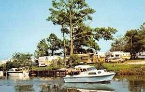 Fenwick-Island-Delaware-Treasure-Beach-Trailer-Park-Vintage-Postcard-K27264