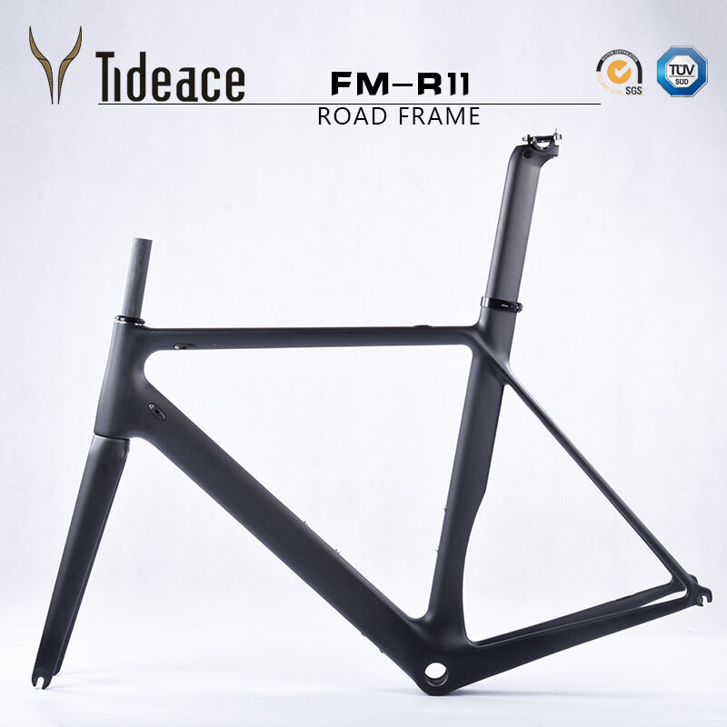 Aero Carbon Fiber 700C Road Racing Bicycle FramesFork T800 Road Bicycle Frames