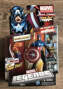 Marvel Legends Captain America Figure Bucky Brand New In Box