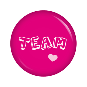 Team Ja-Sagerin Kiwikatze® JGA 37mm Buttons Junggesellinnenabschied Set