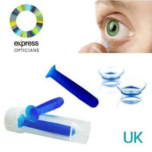 LENTE a contatto intubatore Remover Soft Tip & Custodia igienica uso quotidiano UK Venditore