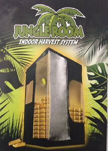 Image is loading JUNGLE-ROOM-THE-STRONGEST-GROW-TENT-IN-OZ- & JUNGLE ROOM THE STRONGEST GROW TENT IN OZ EVEN GROWLAB 100x100x200 ...