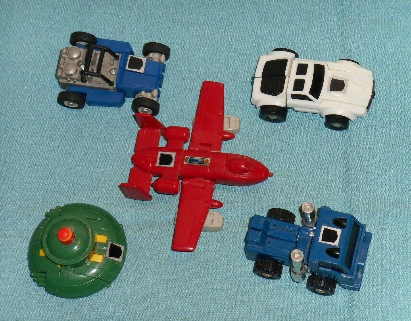 Original G1 Transformers minibot lot x5 Powerglide Tailgate Pipes Beachcomber ++