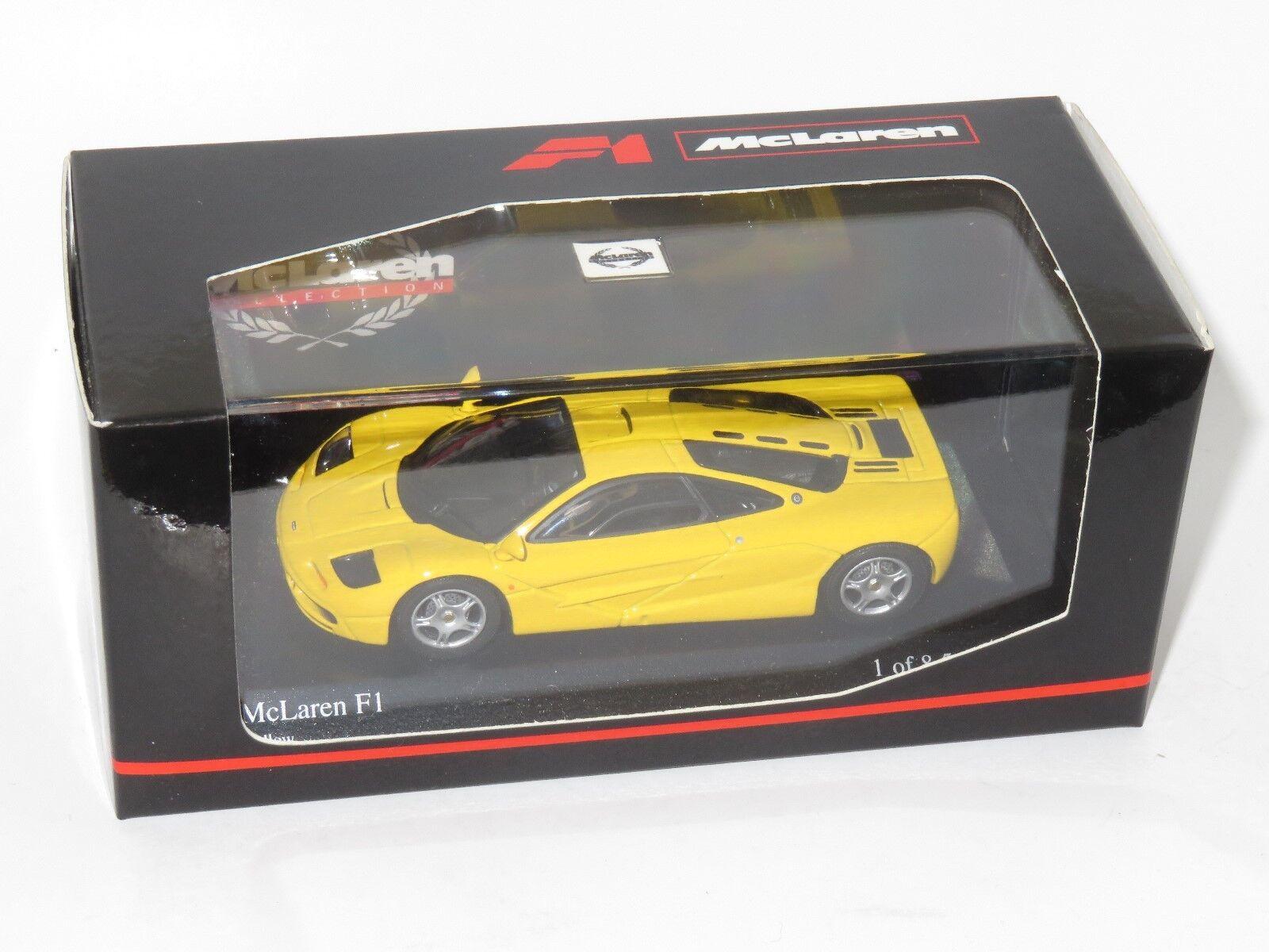 1 43 McLaren F1  Yellow  Roadcar