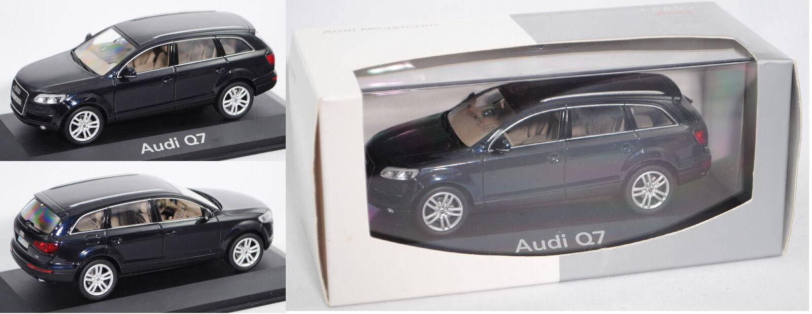 Schuco 5010507633  audi q7 4.2 Store Quattro (type 4 L, modèle 2006-2009), Kobaltbleu  site officiel
