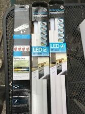 3x GE 26935 Enbrighten Under-Cabinet Linkable Plug-In LED Light Fixture, 18""