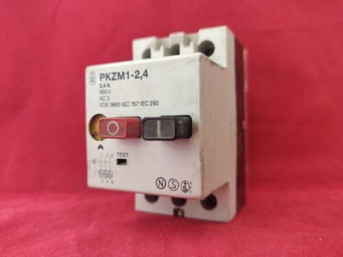 Moeller PKZM 1-2.4 2.4A Módulo De Relé De Control