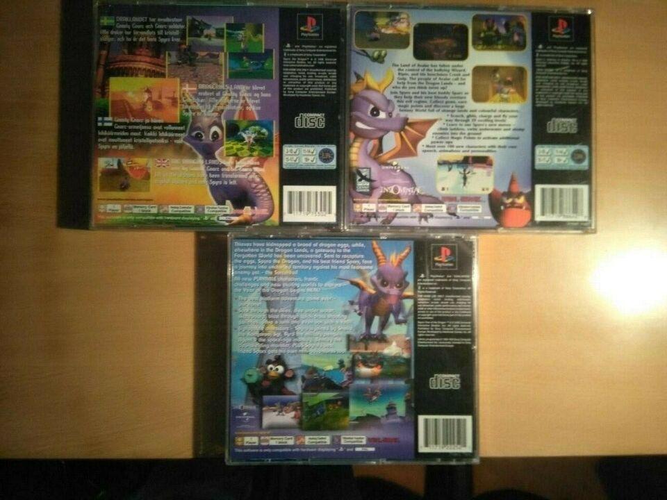 Spyro Trilogy, PS, adventure