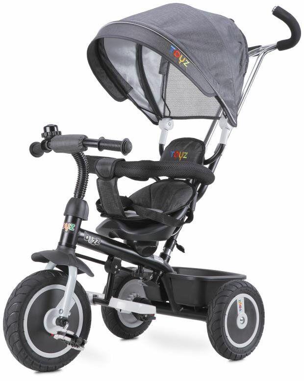Toyz Buzz grau Dreirad für Kinder Fahrrad Kinderwagen Kinderdreirad