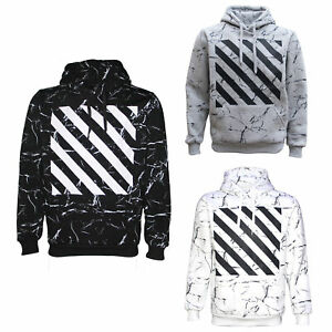 New-Classic-Unisex-Adult-Hoodie-Pullover-Casual-Men-039-s-Sports-Jumper-White-Black