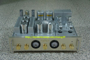 Image Is Loading Western Electric Transformers Tube Phono Preamplifier 6SL7 5691