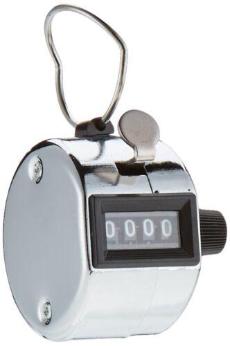 mechanischer Metall Handzähler Click Counter 0-9999 Stückgutzähler #206340