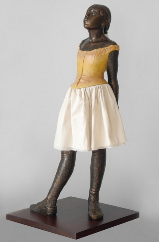 La Pequeña Bailarina 14 Años Gree modellololoo 99cm Edgar Degas  Colección Museum  100% autentico