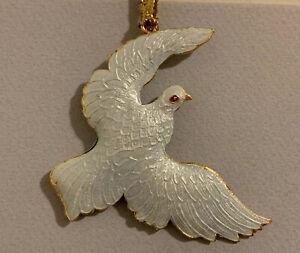 Vintage-Peace-Dove-Ornamental-Metal-Christmas-Tree-Hanging-Ornaments