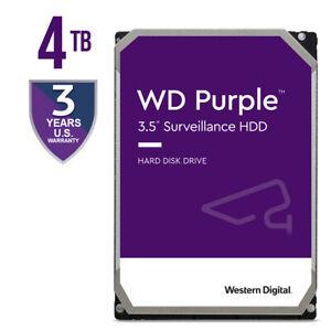 Western Digital Purple 4TB,Internal,5400 RPM,3.5 inch (WD40PURZ) SurveillanceHDD