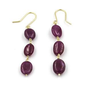 Castellano-Jewels-Pendientes-Mujer-Rubies-Oro-de-Ley-18K