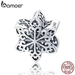 Bamoer-European-S925-Sterling-Silver-charm-Elegant-SnowflakeFor-Bracelet-Jewelry